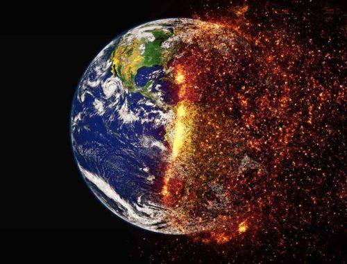 Verbrannte Erde Landwirtschaft