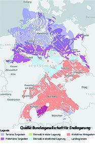 Endlagerkarte Deutschland